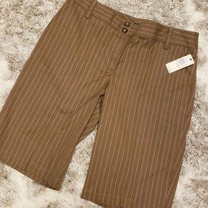 NAUTICA Womens Long Shorts Size 12 NWT